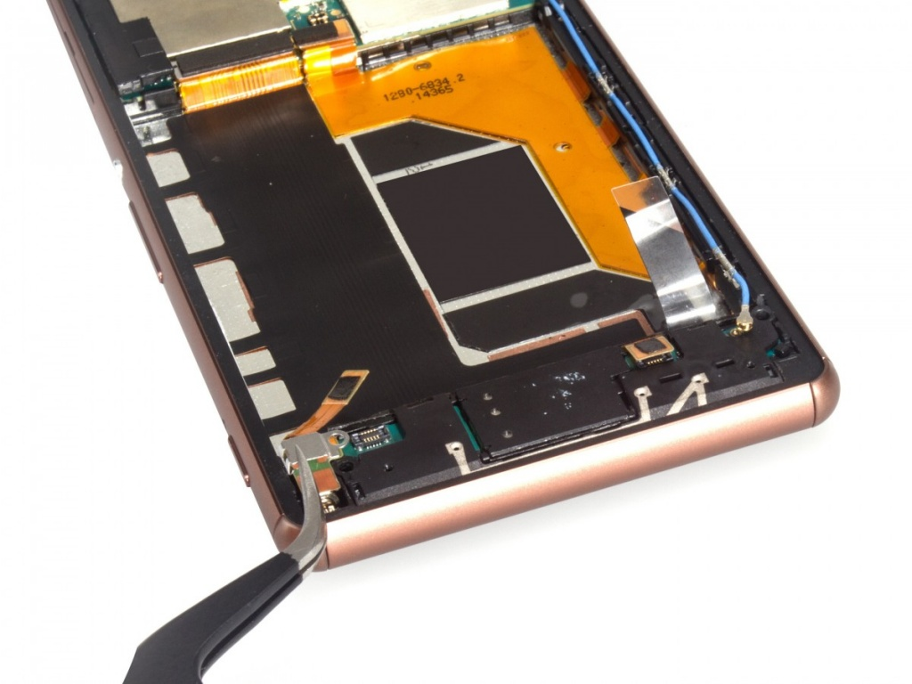 Замена дисплея на xperia z3 своими руками